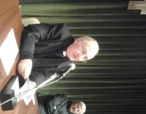 Il nuovo Presidente nazionale UAC d. Luigi Mansi insieme a d. Vittorio Peri, Presidente uscente.