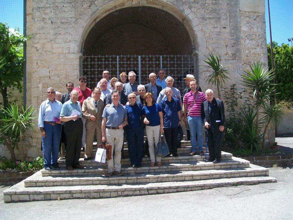 Partecipanti al Cenacolo del 26 giugno presso Casa Betania  in Cassano (Bari)