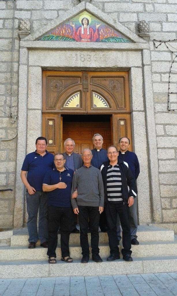 Il Consiglio nazionale dinanzi al sagrato della Chiesa di Sant'Anastasia a Buddusò