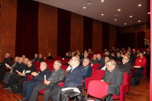 Partecipanti al 7° Incontro regionale preti e diaconi a Cuglieri - Sardegna
