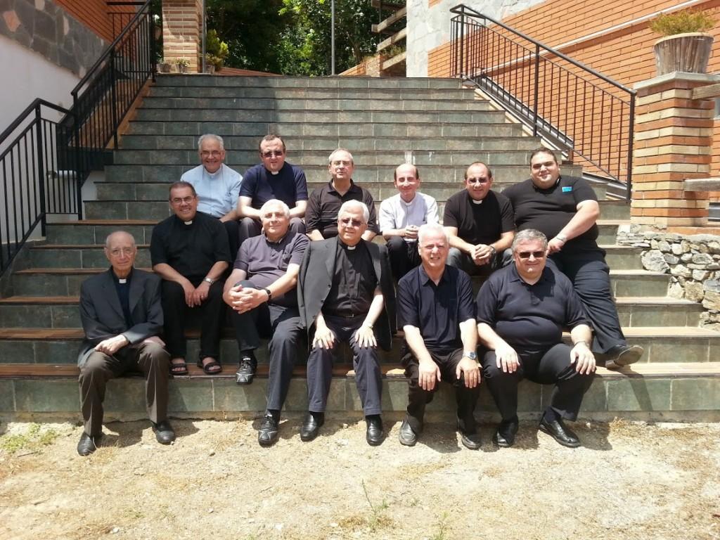 I partecipanti all'incontro UAC della diocesi di Patti