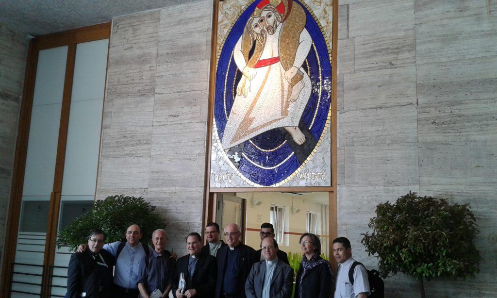 Il piccolo gruppo UAC alla Porta Santa della Caritas di Roma
