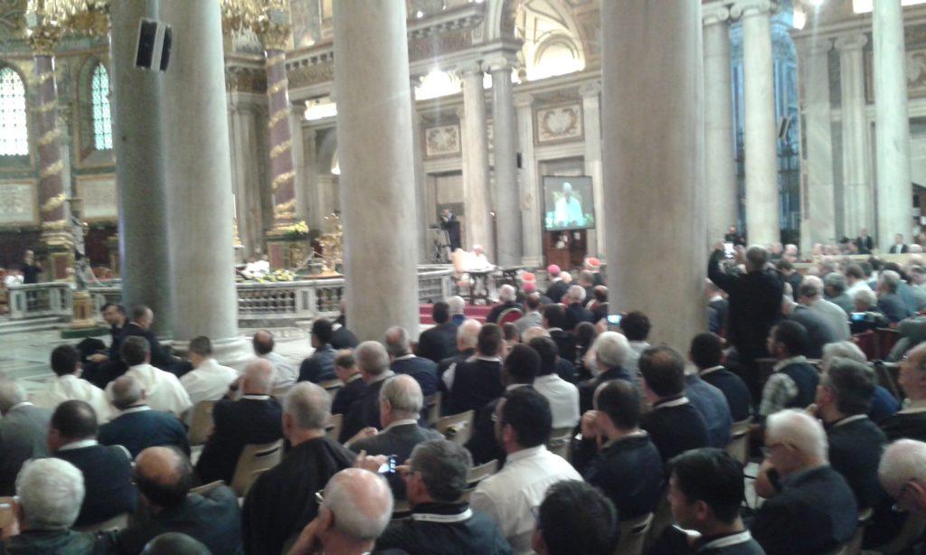 Papa Francesco presenta la seconda meditazione a S. Maria Maggiore