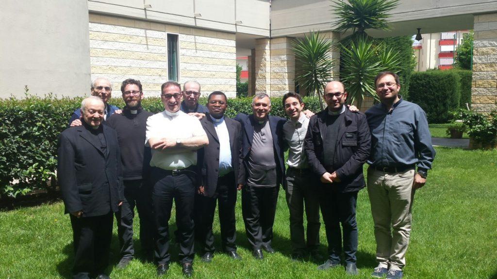 I partecipanti al Cenacolo di Cerignola