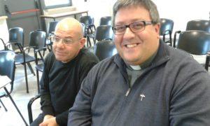 don Antonio Albore e don Michele De Vincentis di Ariano Irpino hanno animato i momenti della Liturgia dell'Assemblea