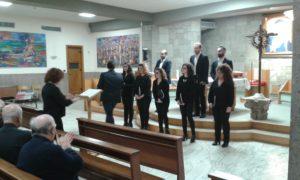 """La corale """"Vox et anima"""" di Andria ha tenuto un magistrale concerto durante l'Assemblea"""