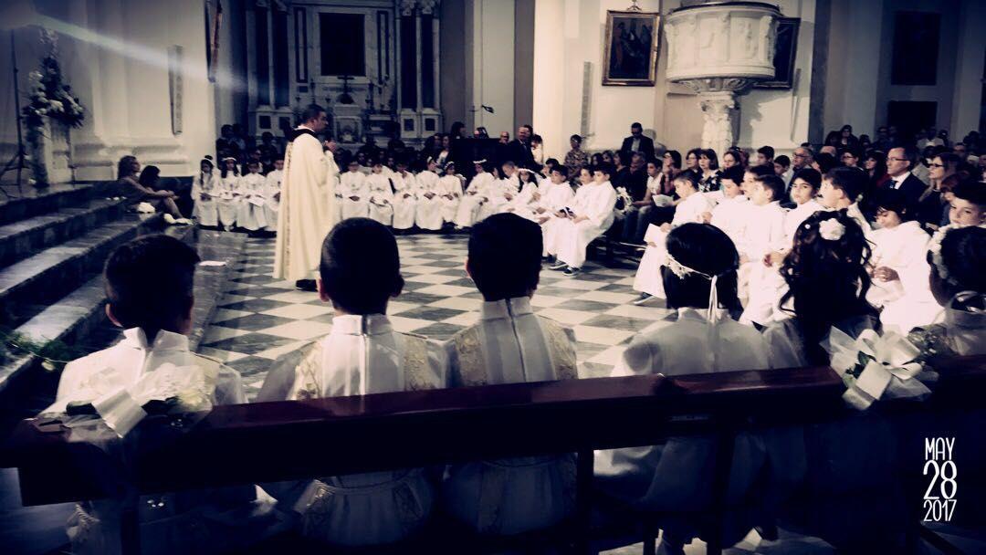prime comunioni in cattedrale Nuoro